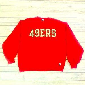 Vintage 90's San Francisco 49ers sweater Large